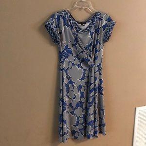 BCBG Maxazria Short Sleeve Summer Dress